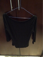 Used Simple black top with lace back  in Dubai, UAE