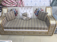 Used Wooden sofa for 3 persons in Dubai, UAE