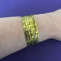 Used 15 pcs of Statement Bangles in Dubai, UAE