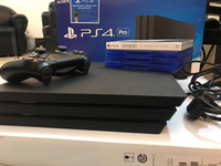 Used PlayStation4 pro with 4 games  in Dubai, UAE