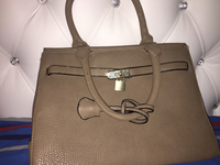 Used beige Hand bag used like new