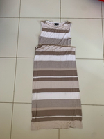 Used Long striped tall dress small in Dubai, UAE