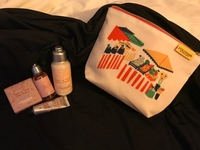 Used L'occitane travel collection with pouch in Dubai, UAE