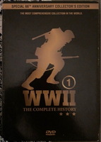 Used WW1 & WW2 DVDs  in Dubai, UAE