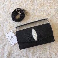 Used Genuine Stingray Skin leather bag (new) in Dubai, UAE