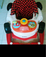 Used Baby walker with free bath tub  in Dubai, UAE