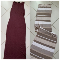 Used 2 tight long dresses in Dubai, UAE