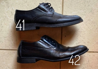 Used Black shoes x2 pairs (41 & 42 size) in Dubai, UAE
