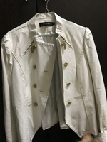 White leather jacket Cartier