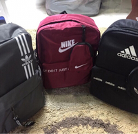 Used Branded backpacks 3 pcs set new in Dubai, UAE