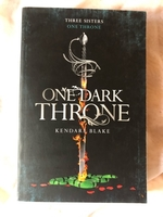 Used One Dark Throne by Kendare Blake  in Dubai, UAE