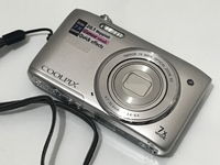 Used Nikon Coolpix_s3400 Silver Camera  in Dubai, UAE