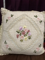 Used Embroidered cushions and tablecloth  in Dubai, UAE
