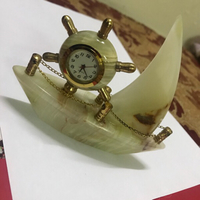 Used Marble onyx Yacht clock gift set ⛵️ in Dubai, UAE