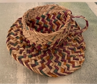 Used Palm fronds basket (teacup shaped) in Dubai, UAE