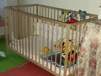Used Ikea cot in Dubai, UAE