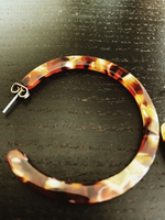 Used Tortoise shell hoop earring in Dubai, UAE