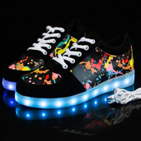 Used LED Light sneakers size 41 in Dubai, UAE