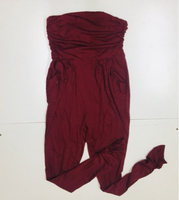 Used Sleeveless jumpsuit elegant red Size S-M in Dubai, UAE