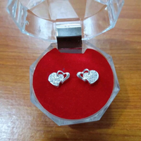 Used  Italy Silver Earrings in Dubai, UAE