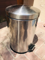 Used Stainless Trash can in Dubai, UAE