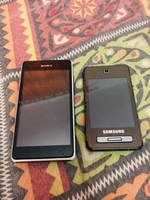 Used Samsung and Sony phone not working dead in Dubai, UAE