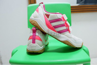Used Adidas Badminton-Velcro Strap Shoes in Dubai, UAE