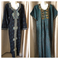 Used 2 dresses embroidered size XL in Dubai, UAE