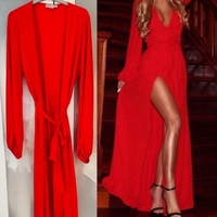 Used Amazing Red Evening Dress  in Dubai, UAE