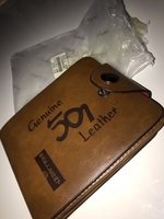 Used Leather wallet/ محفظة جلد in Dubai, UAE