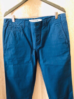 Used Lacoste slim fit pants blue size 44/US34 in Dubai, UAE