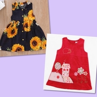 Used Patpat Brand Dresses For 3-4 Age in Dubai, UAE