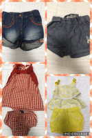 Used Branded clothes for baby girl 3 to 6m in Dubai, UAE