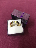 Stainless Steel Ring with Stone/19