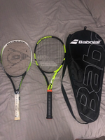 Used Dunlop and Babolat Tennis Rackets in Dubai, UAE