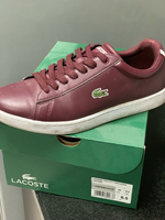 Used pre loved Lacoste shoes  authentic  in Dubai, UAE
