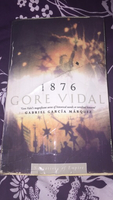 Used 1876 Gore Vidal book nice to read  in Dubai, UAE