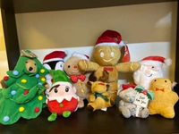 Used xmas bears  in Dubai, UAE
