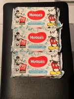 Used Huggies micky mouse baby wipes in Dubai, UAE