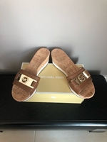 Used Michael Kors sandals size 37,5 new in Dubai, UAE