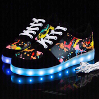 LED Light sneakers size 41 no box