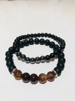 Used Natural stone bracelets 4 pcs  in Dubai, UAE
