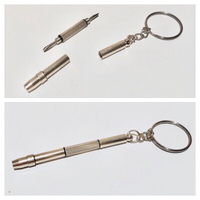Used 3-In-1 Screwdriver Kit Key Chain 2pcs in Dubai, UAE