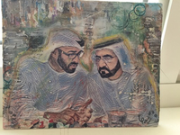 Used Acrylic painting for HH MBR & MBZ A4 six in Dubai, UAE