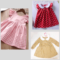 Used Patpat Brand Cute Dresses for Girls in Dubai, UAE
