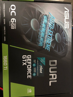 Used Asus GTX 1660 ti Dual 6GB in Dubai, UAE