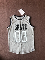 Used Sleeveless T-shirt for a boy new for 5-6 in Dubai, UAE