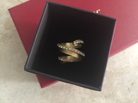 Used Stroili from Damas gold plated ring in Dubai, UAE