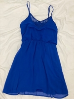 Used Blue Sleeveless Dress in Dubai, UAE
