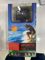 Used Full Hd waterproof action camera black in Dubai, UAE